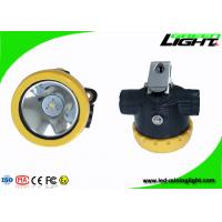 Buy cheap Automatic Power - Off Cordless Mining Lights , LED Mining Cap Lamp With One Year from wholesalers