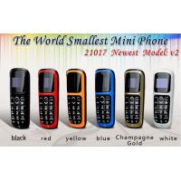 China WHOLESALE THE WORLDS SMALLEST MINI MOBILE UNLOCKED V2 BOSS PLASTIC 99.9% SMALL TINY SPY KEY UK Made In China on sale