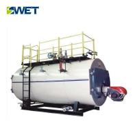 Buy cheap WNS 20t/h oil fired fire tube steam boiler for Textile industry from wholesalers