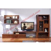 Best Classic Design Solid Wood Material TV Stand for Wall Unit in Living Room Furniture wholesale