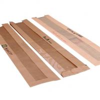 Best Kraft Recycled Paper Food Bags , Paper Bags For Food Packaging With Window wholesale