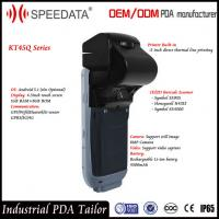 China GSM Gprs Mobile Handheld Smart Card Reader with NFC Reader Writer / Thermal Printer on sale