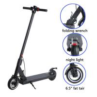 China 24v 250w Waterproof E Scooter , Folding Electric Scooter 6.5 Inch Tire on sale