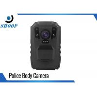 Cheap Wireless Police Wearing Body Cameras 3200mAh Battery Capacity With GPS Laser for sale