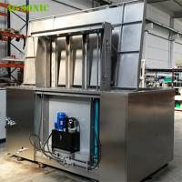 Best Automatic Ultrasonic Cleaner with Hydraulic Lift PLC Controlled for Wheel Rim Cleaning wholesale