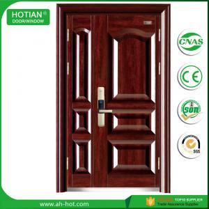 Best CE Approbed Steel Fire Rated Door Popular for House Entrance Metal Doors wholesale
