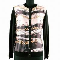 Best Women's Cardigan with V-neck and Long Sleeves wholesale
