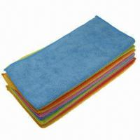 Best Microfiber Face Towels with Fleece and Double Jacquard Border Design wholesale
