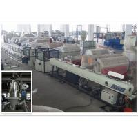 Best Pipe Extrusion Machine Polyethylene PE Pipe Extrusion Line With Twin Screw Extruder wholesale