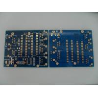 Best Ultra thin Double Sided PCB / FR4 Blank PCB Board Through hole 0.12mm wholesale