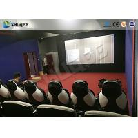 Best Park 9D Cinema Seat With Electric / Pneumatic System Round Screen wholesale