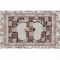 China PVC Foam Anti-slip Door Mat, Skid-proof, Soft, Washable, Hundreds of Attractive Designs on sale