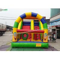 China Clown Commercial Inflatable Slides Printing Inflatable Backyard Water Slide wholesale