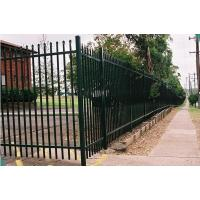 China Galvanized Steel Wire Mesh Fence Panels Picket Tubular For Boundary Wall on sale