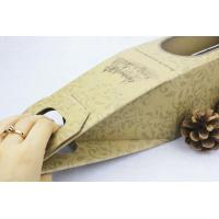 Buy cheap Premium promotional  creative Paper Gift Boxes for red wine , easy taking product