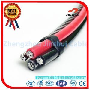 Best Xlpe / PVC / PE  Insulated AAAC Triplex Service Drop Cable 25 - 120 Mm2 Range wholesale
