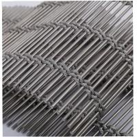 China Cables Woven Wire Mesh Screen for Building Cladding Stainless steel cable wire rope mesh on sale
