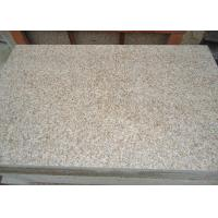 Buy cheap Honed Surface G682 Sunset Gold Granite Stone Tiles , Rusty Yellow Stone Floor from wholesalers