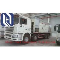 Best Howo 30t Euroii 7m3 Vacuum Suction Dust Collection Truck For Cambodia / Dust Control Water Trucks wholesale