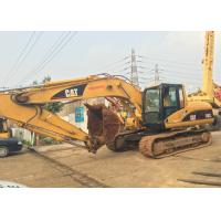 China Second Hand 320cl Caterpillar Excavator Full Power Engine With Hydrolic System on sale