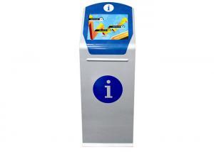 Best Floor Standing 23.6'' ANDROID 7.1 Self Ordering Kiosk For Restaurants Bank wholesale
