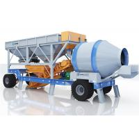 China Automatic Mobile Concrete Mixing Plant For Highway 60m3/H Strong Load Capacity on sale