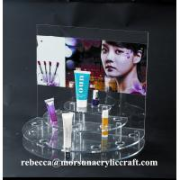 Best Countertop acrylic cosmetic holder plexiglass make-up display stand made in China wholesale