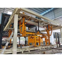 Best Automatic Lightweight Concrete Block Production Plant for Building - ISO9001 380V Rotary Crane AAC Block Cutting Machine wholesale