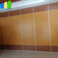 Best Plywood Sound Proof Partitions Board Folding Wood Sliding Door Movable Folding Doors Room Dividers wholesale