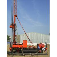 Best Full Hydraulic Jet Grouting Drilling Rig vice winch and electrical control power head wholesale