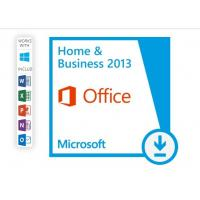 Best Microsoft Office Home And Business 2013 Product Key , Office 2013 Retail Key For 1 PC wholesale