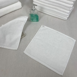 Best 60g/Pc White Cotton Face Towel wholesale
