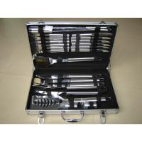 Best 24pcs stainless steel handle BBQ tools in a case wholesale