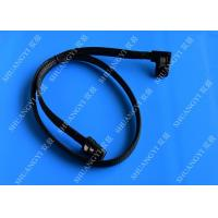 Internal Mini SAS(SFF-8087) 36Pin Right Angle Male to Internal Mini SAS (SFF-8087) 36Pin Male Cable, 0.75 Meterr