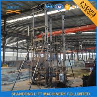 China 1ton Vertical Wall Mounted Warehouse Elevator Lift with 4 m Lifting Height 1 t Loading Capacity on sale
