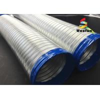 Best High Pressure Semi Rigid Flexible Ducting Aluminum Tube Flexible Air Conditioner Hose wholesale