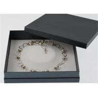 Brcacelet Packaging Paper Jewelry Box Elegant Style Luxury Waterproof Velvet for sale
