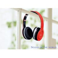 China HF680S Foldable Four Channels Wireless Stereo Bluetooth Headphone V4.0 Red & Black on sale