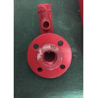 China Red / Sliver Steel Flange Fire Fighting Accessories Connecting Pipe on sale