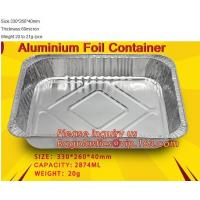 Best Well Selling Catering Tray Fast Food Disposable Foil Container Aluminum Foil Container Aluminum Container BAGEASE PACKAG wholesale