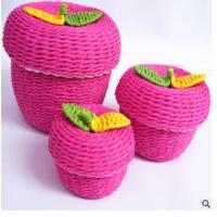 Best Woven Paper rope storage box wholesale