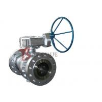 Best Cast Steel Soft Seated Ball Valve , API 6D Side Entry Ball Valve 2 Inch - 36 Inch wholesale