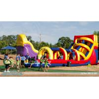 China giant inflatable water slides for adult,super splash on sale