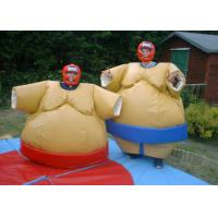 Best Padded Sumo Wrestling Suits Light Weight Plato PVC With Protective Helmet wholesale