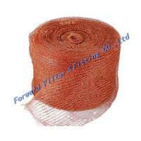 Best Standard Stainless Steel Woven Metal Mesh / Safe  strong Knitted Wire Mist Eliminator wholesale