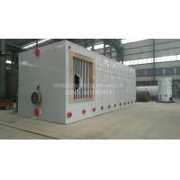 Best Environment Friendly Three Pass Fire Tube Boiler Gas Oil Hot Water Boiler 0.7MW-14MW wholesale