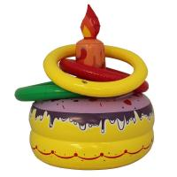 China Inflatable Toys Birthday Cake Ring Toss on sale