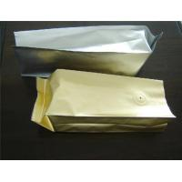 China Laminated Unprinted Plastic Pouches Packaging , Food Coffee Bean Packaging wholesale