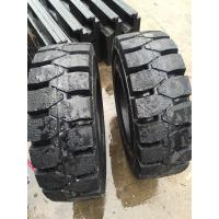 China Factory Price 3.5t forklift truck tire 7.00-15, solid tire Steel ring China High Quality 10.00-20 Forklift Solid Tyre on sale