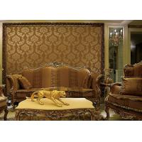 Best European Style Wet Embossing peel and stick wall covering 0.685*8.32M Different Colors wholesale